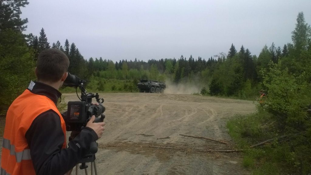 "Making of the film ""Patria XA-220 - 24 Hour Endurance Event"""