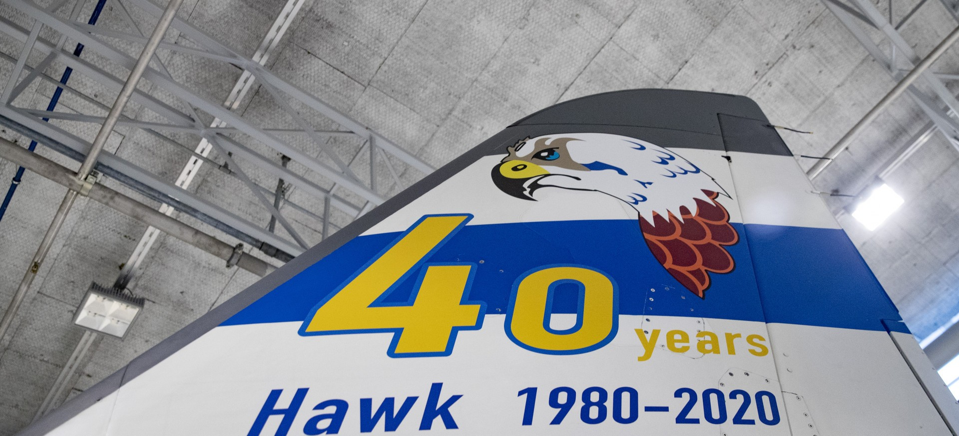 Hawk 40 years in Finland