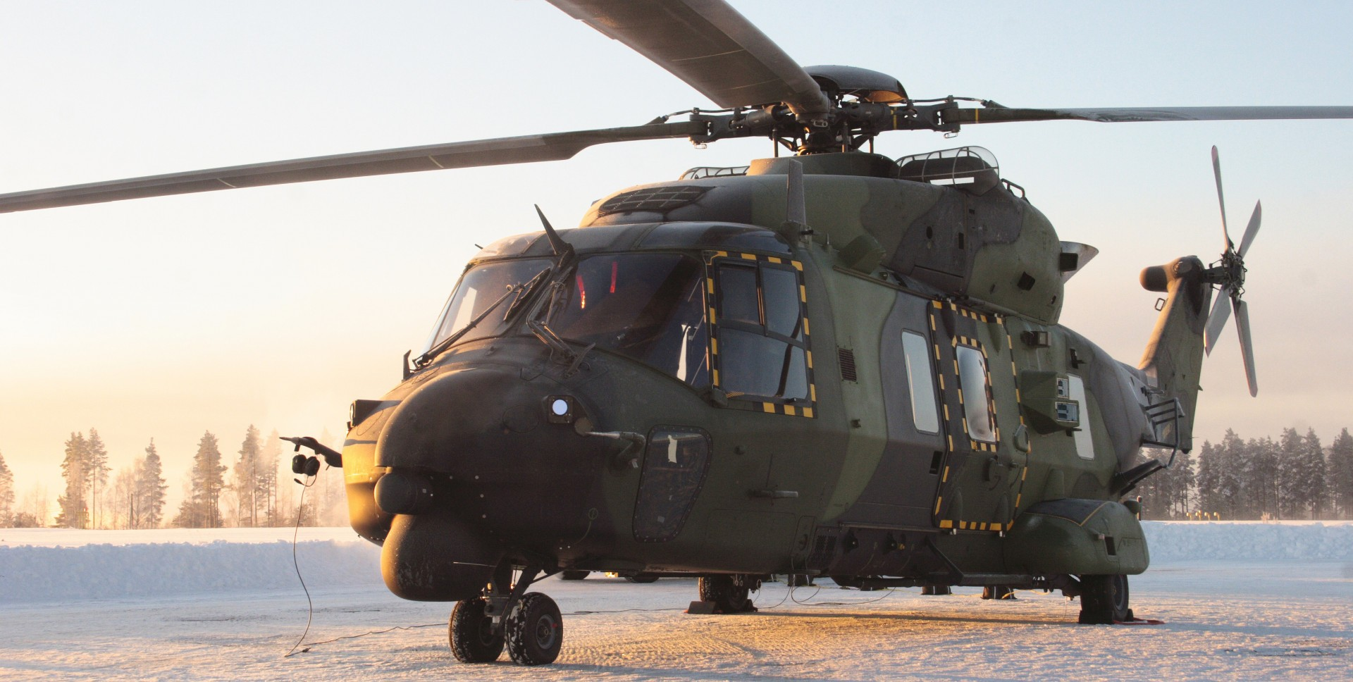 NH90-winter Photo: Patria