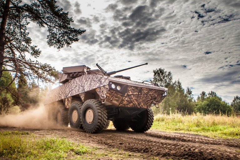 Armoured Wheeled Vehicles